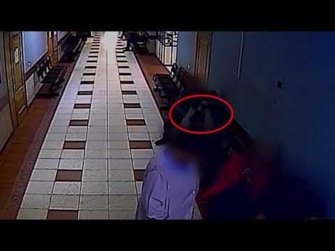 Дерзкая кража в больнице попала на камеру видеонаблюдения