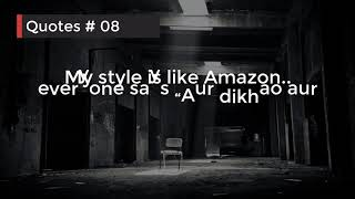 🔥Attitude quotes for girls🔥 | #Quotes Attitude Quotes | Facebook New Stylish Bio