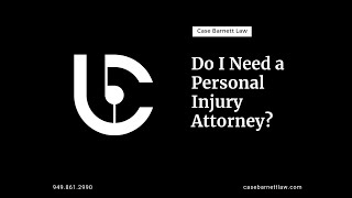 How do you know if you need an attorney?