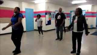 #DWTS (Dancing With The Stars) line dance by J&J Soulful Steps - LDE 05-22-2017