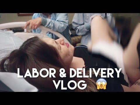 Real Af Labor & Delivery Vlog   Natural Birth With No Epidural! 😯