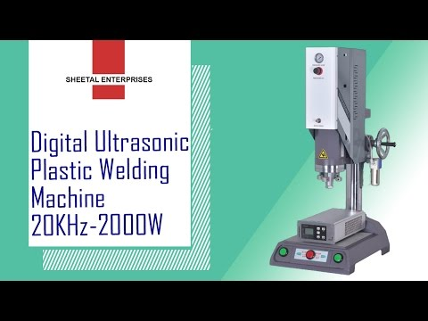 Ultrasonic Plastic Welding Machine 20khz-2000watt ( Digital-auto Tune)