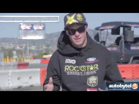 Brian Deegan at the 2014 GRC Global RallyCross
