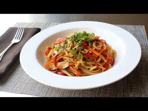 Spicy Chicken Noodles – Easy Asian-Inspired Chicken Noodles Recipe