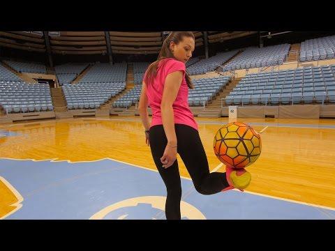 Freestyle Soccer Trick Shots w/ Indi Cowie (видео)