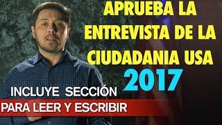 2017, 2018 LAS 100 PREGUNTAS Cívicas DE LA CIUDADANIA USA. En inglés y Español. APRUEBE!
