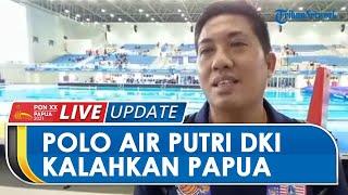 Terus Lakukan Serangan, Tim Polo Air Putri DKI Jakarta Menang Telak atas Papua 20-3