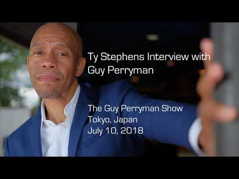 Ty Stephens Interview with Guy Perryman - Tokyo, Japan