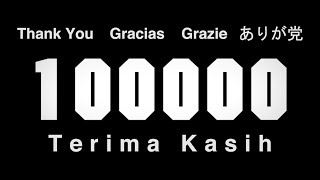 100,000 Thank You Video thumbnail