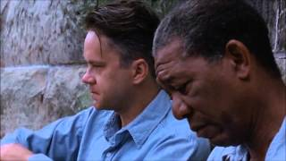 Get Busy Living or Get Busy Dying, The Shawshank Redemption dialogue