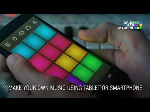 drum pad machine make beats android app on appbrain. Black Bedroom Furniture Sets. Home Design Ideas