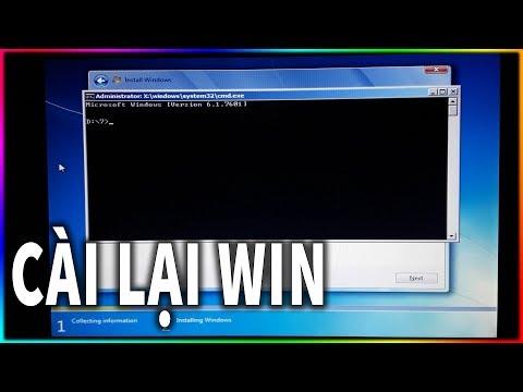 Cách cài lại máy tính đơn giản không biết gì cũng làm được