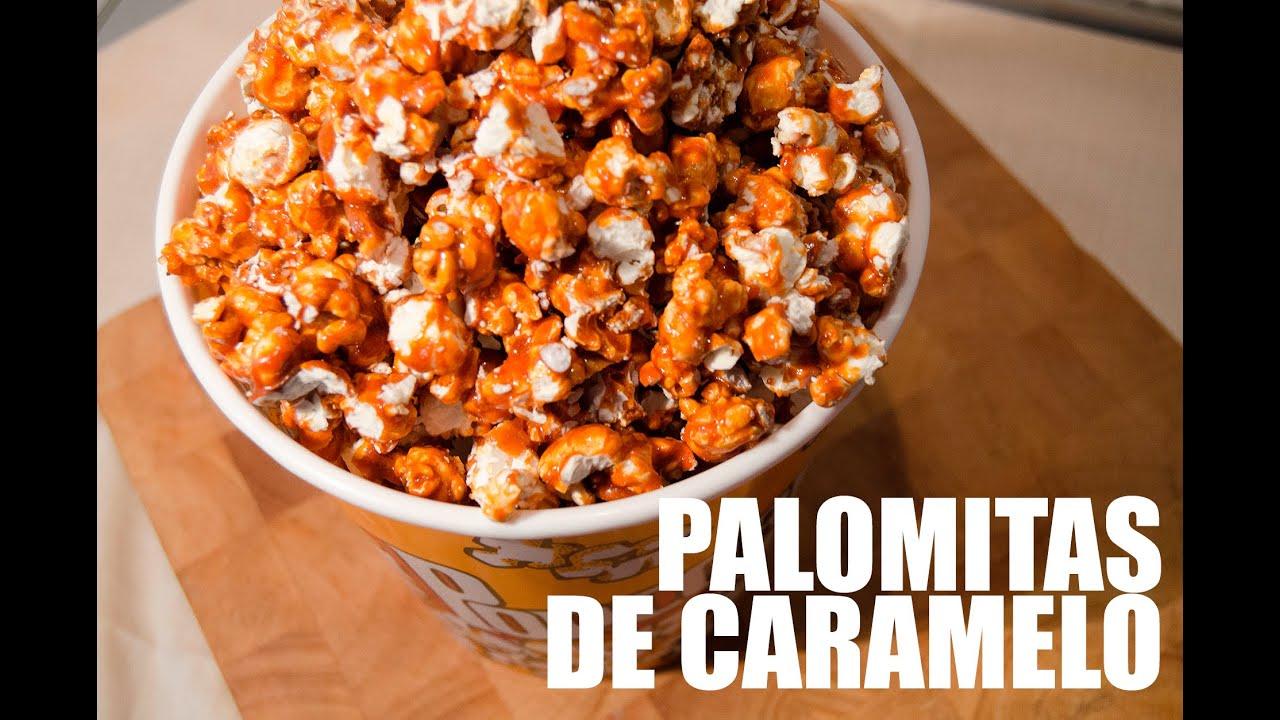 PALOMITAS CON CARAMELO