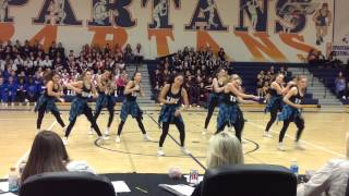 Yorktown Dance Team Varsity Hip Hop - East Coast Regional Dance Championship - January 11, 2015