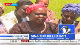 Sombre Mood: Ainabkoi killer dam claims lives of two. The dam is not fenced