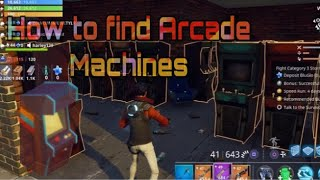 How to find Arcade Machines in Save The World