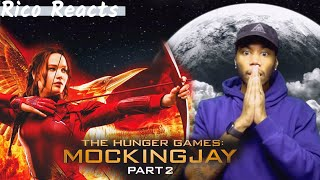 WATCHING THE HUNGER GAMES: MockingJay - Part 2 (2015) For The FIRST TIME!!! #Hungergames