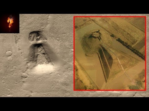 Ancient Tomb Located On Mars?