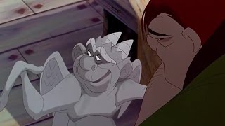 The Hunchback of Notre Dame ♪ Gargoyles encourage Quasimodo HD ♥ Cartoon For Kids