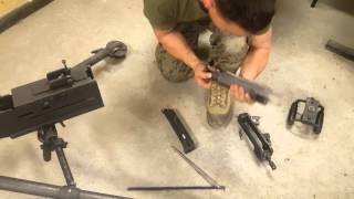 Full disassembly, assembly, functions check of a M2 .50 cal