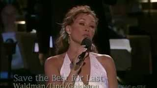 Vanessa Williams - Save The Best For Last (Live)