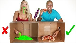 DONT Eat The WRONG MYSTERY BOX!! (Gross Foods)