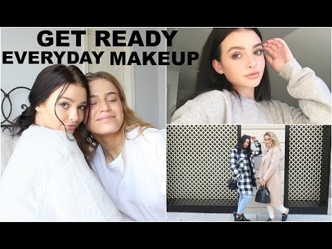 GRWM| Everyday makeup tutorial, Get ready with us!
