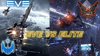 Eve Online vs Elite Dangerous - Comparing the Two Largest Space MMO Games!
