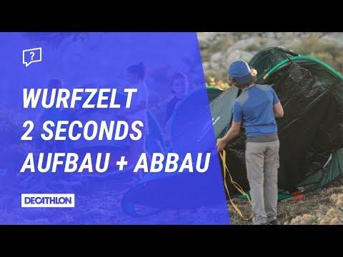 Wurfzelt 2 Seconds Aufbau + Abbau | Anleitung