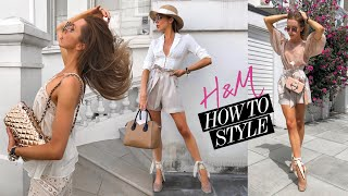 H&M HAUL & TRY ON // July 2019 // Everyday High Street Fashion & Summer Trends!