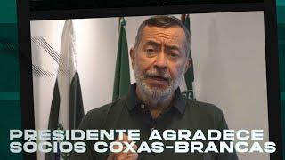 Presidente Juarez fala à nação coxa-branca