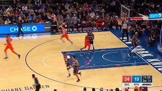 2nd Quarter, One Box Video: New York Knicks vs. Oklahoma City Thunder