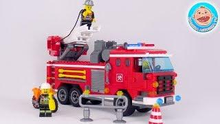 Пожарная машинка — профессия пожарный. Видео для детей