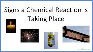 7 Signs a Chemical Reaction is Taking Place
