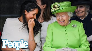 Meghan Markle and Archie Spoke with the Queen Before Prince Philip's Funeral, Says Source | PEOPLE