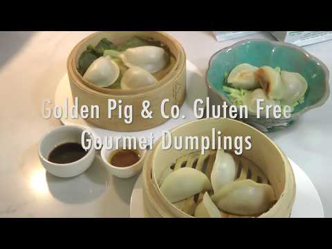 Golden Pig & Co Gluten Free Dumplings - STEAMING