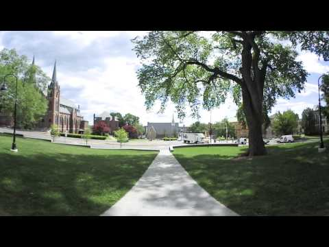 360 View from the Grécourt Gate at Smith College