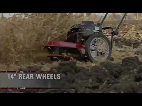 Fadenmäher Motorsense auf Räder GeoTech DG 56 F