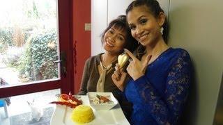 Thai Kochen: TOM KAH GAI verboten leckere Suppe mit Kokosnussmilch und Galanga