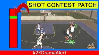 NBA 2K SCRAMBLING TO FIX SH0T CONTEST AND STEALING ISSUES #2KDramaAlert Agent vs. CrashyLion