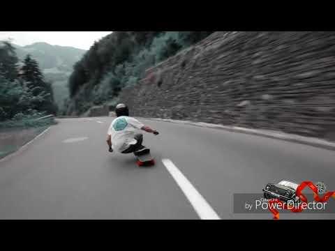 "Saykoji ""jalanku Masih panjang"",cover by skateboard"