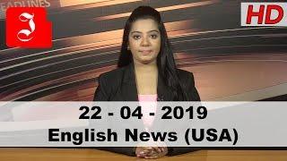 News English USA 22nd April 2019