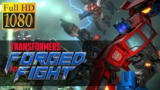 Transformers: Forged To Fight Game Review 1080P Official Kabam Action