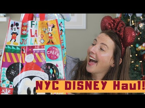 NYC Disney Store Haul | Mickey Memories December Review Mp3