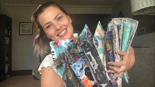 Flosstube #31 - Wip Parade!!! Projects Galore, Bags Galore!!! Stitchuation Normals