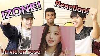 [MV] 【IZONE~La Vie en Rose~】Japanese guys react to a rising Kpop star group (ENG subtitle)