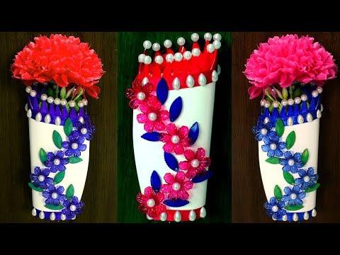 Diy Flower Vase Diy Room Decor Wall Decor Diy Room Decorating