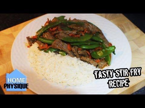 Video Bodybuilding Meal Quick Healthy Beef Stir Fry Recipe