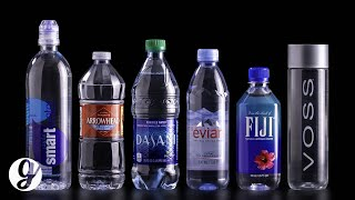 Tasting the Most Popular Bottled Water | GRATEFUL