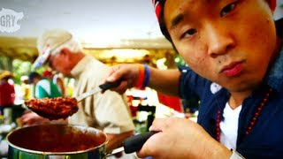Chili Cook Off - The Fung Brothers Mess with Texas